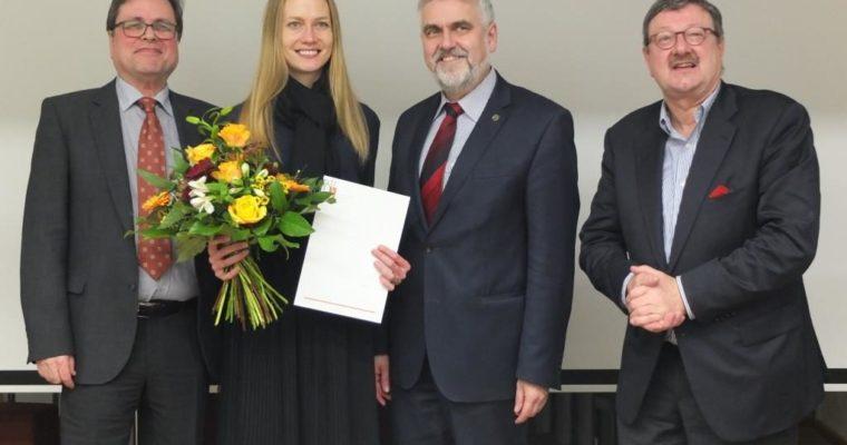 Art History alum Stephanie Luther (FCRH 2006) wins prestigious international prize for her dissertation
