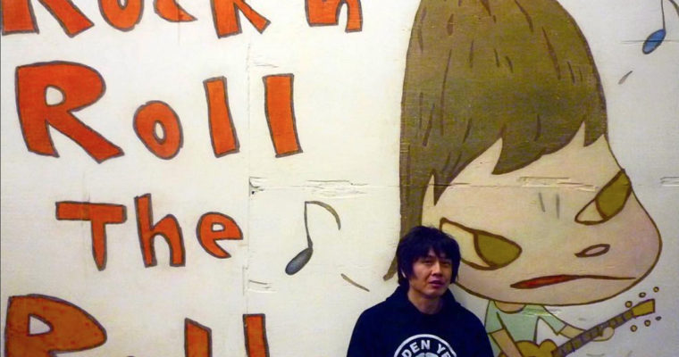 Recalling a Night with Yoshitomo Nara: Classic Rock and Teen Angst Live On